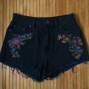 BDG Dree Cheeky Denim Shorts